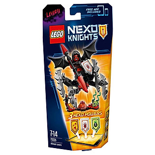 Mô Hình LEGO Nexo Knights - Quỷ Nham Thạch 70335 (69 Mảnh Ghép)