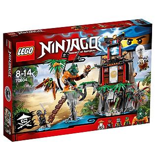 Mô Hình LEGO Ninjago - Đảo Nhện Độc 70604 (450 Mảnh Ghép)