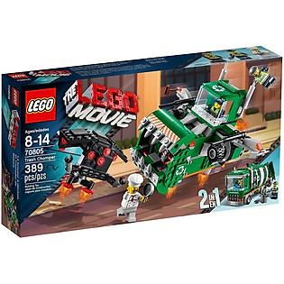 Mô Hình LEGO Movie Quái Vật Nghiền Rác (389 Mảnh Ghép) - 70805