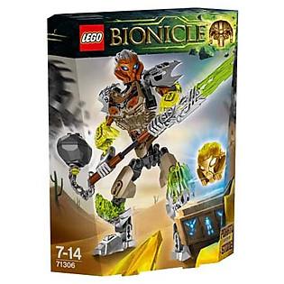 Mô Hình LEGO Bionicle - Thần Đá Pohatu 71306 (90 Mảnh Ghép)