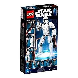Mô Hình LEGO Constraction Star Wars - Lính Stormtrooper Của Tổ Chức Thứ Nhất 75114 (81 Mảnh Ghép)
