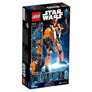 Mô Hình LEGO Constraction Star Wars - Phi Công Poe Dameron 75115 (102 Mảnh Ghép)