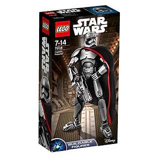 Mô Hình LEGO Constraction Star Wars - Đại Úy Phasma 75118 (82 Mảnh Ghép)