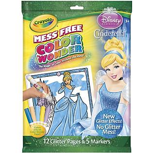 Bộ Bút Giấy Tô Màu Crayola Color Wonder Hình Công Chúa Disney - 752133A015