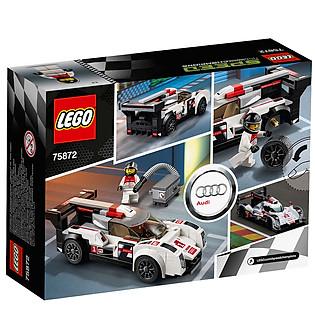 Mô Hình LEGO Speed Champions - Xe Đua Audi R18 E-Tron Quattro 75872 (166 Mảnh Ghép)