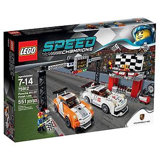 Mô Hình Lego Speed Champions - Đích Đến Porsche 75912