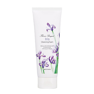 Sữa Rửa Mặt  Missha - Flower Bouquet Iris Cleansing Foam - M0486
