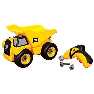 Đồ Chơi Lắp Ráp Toy State CAT - Xe Ben Và Dụng Cụ Lắp Ráp CAT80232