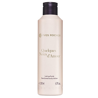 Sữa Dưỡng Thể Yves Rocher Perfumed Body Lotion Quelques Notes D'Amour (200Ml) - Y102251