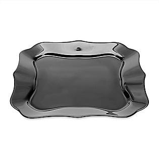 Đĩa Thủy Tinh Luminarc Authentic Black Dinner E4953 - (26Cm)