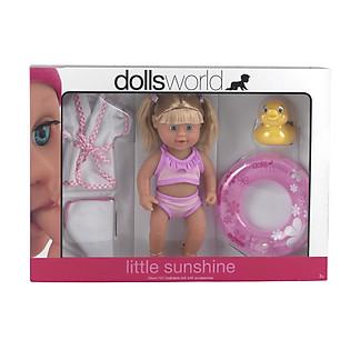 Búp Bê Dolls World Đi Biển Cùng Bé - DW8555