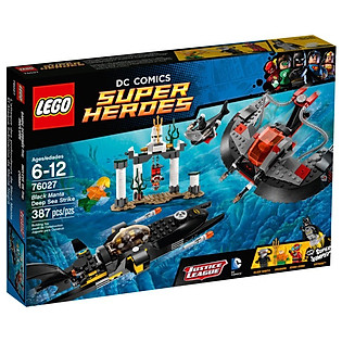 Mô Hình LEGO Super Heroes - Cuộc Tấn Công Dưới Đáy Đại Dương 76027
