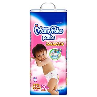 Tã Quần Bé Gái Mamypoko Size XXL (20 Miếng)