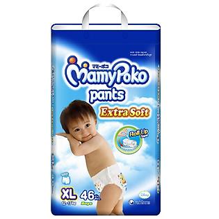 Tã Quần Jumbo Bé Trai Mamypoko XL46