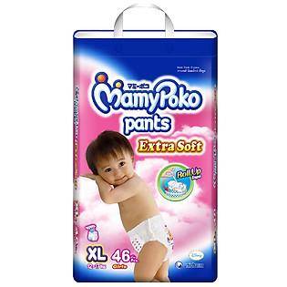 Tã Quần Jumbo Bé Gái Mamypoko XL46