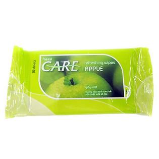 Gói 10 Khăn Ướt Fressi Care Apple