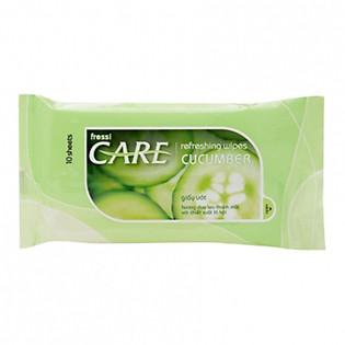 Gói 10 Khăn Ướt Fressi Care Cucumber
