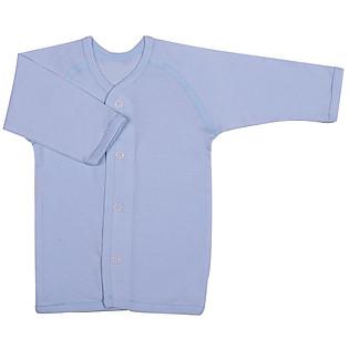 Áo Cài Giữa Ilumino Khuy Bấm Size 60 - Xanh Nhạt