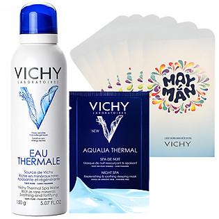 Combo Tết Vichy Nước Khoáng Dưỡng Da Vichy 300Ml - 100771225