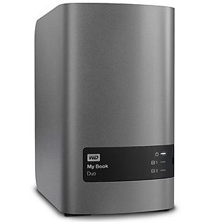 Ổ Cứng Di Động WD My Book Duo 4TB Charcoal Multi - City Asia