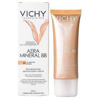 Kem Lót Nền Che Khuyết Điểm Và Chống Nắng Vichy Aera Mineral BB 40Ml