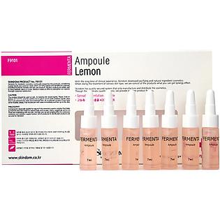 Tinh Chất Dưỡng Chiết Xuất Từ Chanh Fermenta Ampoule Lemon ( 7Ml X 7)