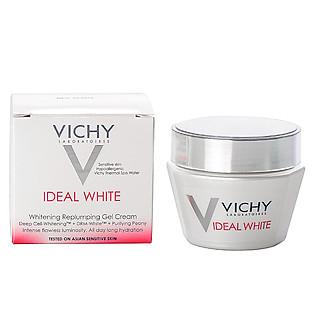 Kem Gel Dưỡng Trắng Da Và Giảm Thâm Nám Ban Ngày IDEAL WHITE Whitening Replumping Gel Cream Vichy - 100703230 - M9440700