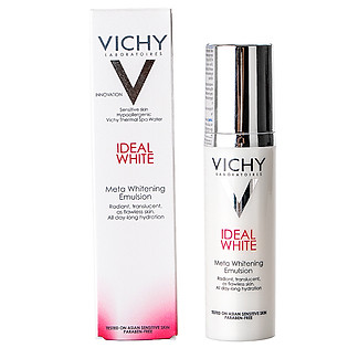 Dung Dịch Dưỡng Trắng Da & Giảm Thâm Nám Từ Sâu Bên Trong Vichy Ideal White Meta Whitening Emulsion - M8621800 (50Ml)