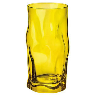 Ly Thủy Tinh Sorgente Bormioli Rocco 450Ml (Màu Vàng)