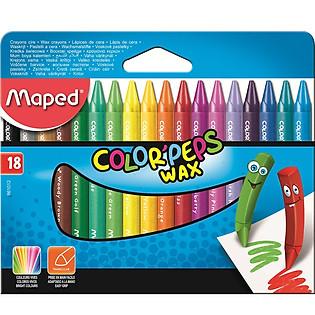 Sáp Màu Maped Wax 18M - 861012