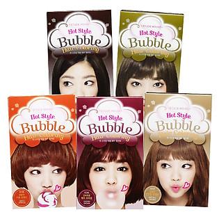 Thuốc Nhuộm Tóc Dạng Bọt Etude Hot Style Bubble Hair Coloring