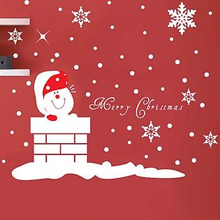 Decal Dán Tường Ninewall Love Santa HM020