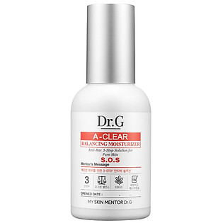 Sữa Dưỡng Dr.G A-Clear Balancing Moisturizer (50Ml)