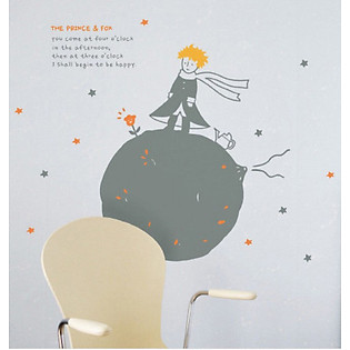 Decal Dán Tường Ninewall Little Princess BP008