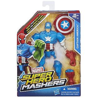 Mô Hình Super Hero Mashers - Captain America Phiên Bản Kết Hợp A6827/A6825