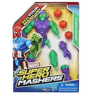 Mô Hình Super Hero Mashers - Green Goblin Phiên Bản Kết Hợp A6831/A6825
