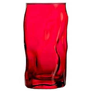 Ly Thủy Tinh Sorgente Bormioli Rocco 450Ml (Màu Đỏ)