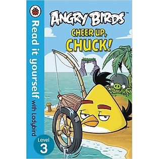 """""""Angry Birds: Cheer Up, Chuck! (Paperback)"""""""