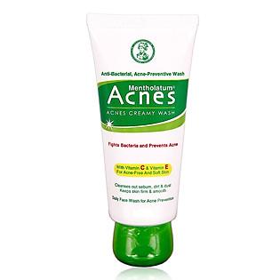 Kem Rửa Mặt Ngăn Ngừa Mụn Rohto Acnes 100G