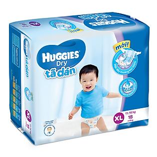 Tã Dán Huggies Dry Jumbo Gói Trung Size XL (18 Miếng)