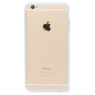 Ốp Viền Baseus Arc Bumper Cho Iphone 6 Plus - Bạc