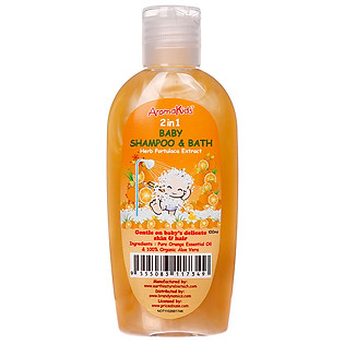 Sữa Tắm Và Gội Aromakids 2 Trong 1 Trẻ Em Aromakids Baby 2 In 1 Shampoo And Bath - 7349 (100Ml)
