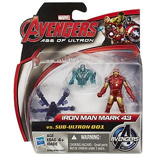Mô Hình Avengers - Iron Man Mark 43 Và Sub Ultron 001 B1482/B0423