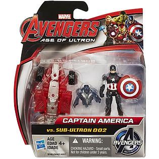 Mô Hình Avengers - Captain America Và Sub Ultron 002 B1483/B0423