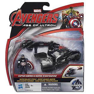 Mô Hình Avengers - CA Marvel War Machine Blast Cycle B1499/B0448