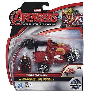 Mô Hình Avengers - Thor Và Iron Man Với Arc ATV B1501/B0448