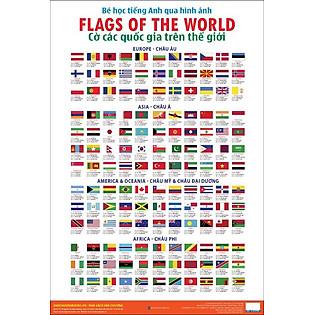 Bé Học Tiếng Anh Qua Hình Ảnh - Cờ Các Quốc Gia Trên Thế Giới