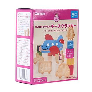Bánh Quy Phomai Bổ Sung Sắt Và Canxi Wakodo - T22 (Cho Bé Từ 9 Tháng Trở Lên)