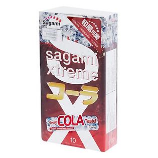Bao Cao Su Sagami Xtreme Cola - Hộp 10 Bao