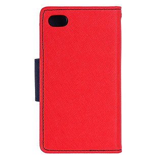 Bao Da Mercury Fancy Diary Samsung Galaxy Note II GT-N7100 - Màu Đỏ